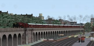 6233 Duchess of Sutherland reskin for Train Simulator