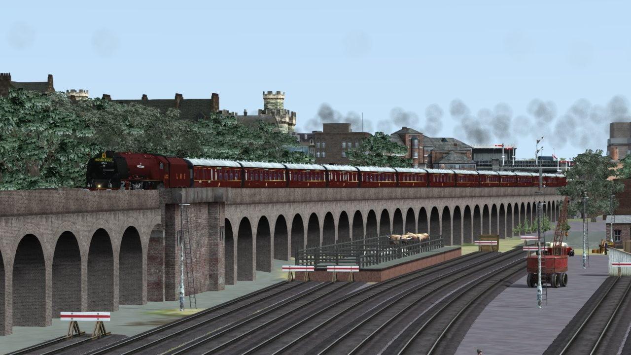 6233 Duchess of Sutherland reskin for Train Simulator