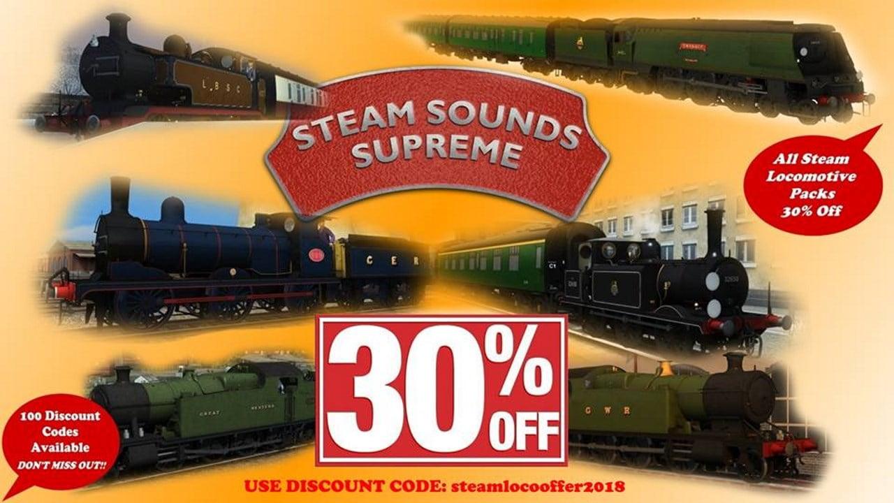 Steam Sounds Supreme sale
