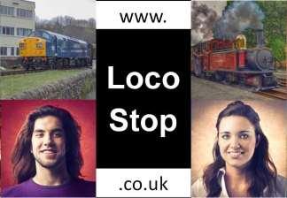 LocoStop Railway Community Logo