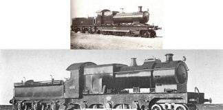 "33 and 2601, First Engine Of Both Classes // Credit Unknown and ""Boys' Book of Locomotives"" by J. R. Howden,1907"