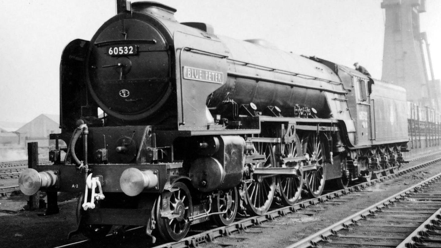 60532 'Blue Peter' at Haymarket, Edinburgh // Credit Tour Scotland Photographs And Videos