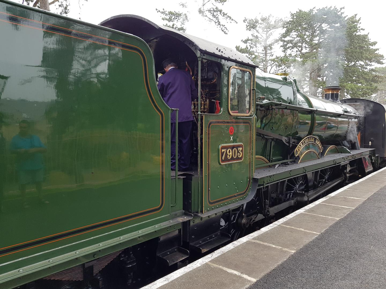 "7903 ""Foremarke Hall"" at the GWSR // Credit Jamie Duggan, RailAdvent"