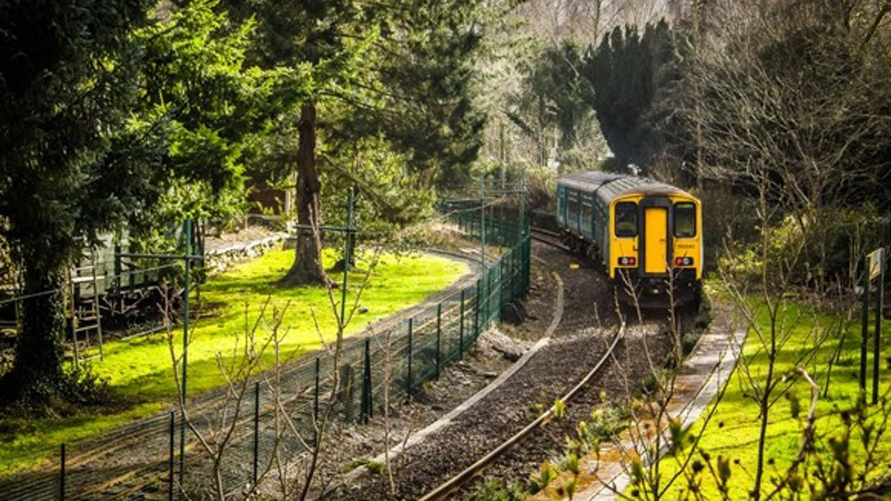 150 at Betws-y-coed on the Conwy Valley Line