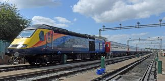 East Midlands Trains new HST in Derby