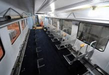 South Western Railway carriage refurbishment