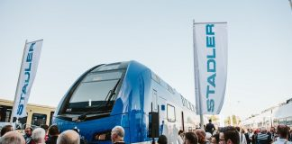 Stadler double decker train