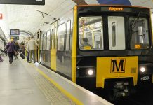 Metro train journeys to Newcastle Airport at record high