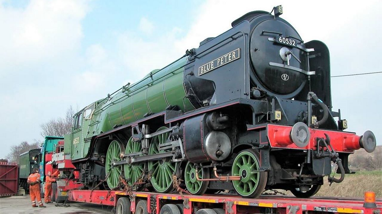 An update on steam locomotive No 60532 Blue Peter