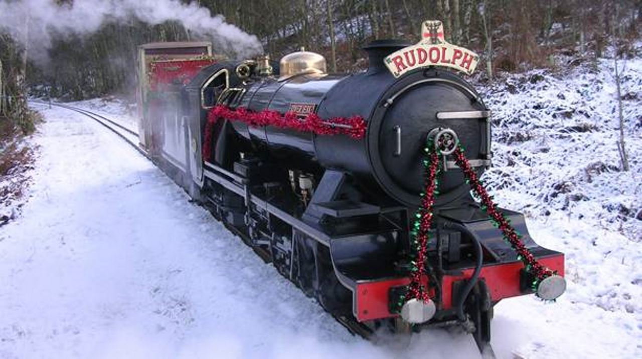 Image result for santa express ravenglass