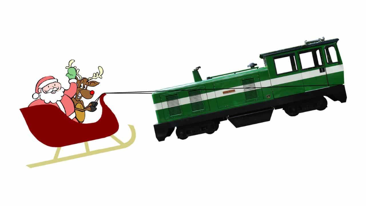 Ruislip Lido Railway Santa Specials