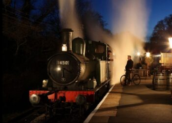 Overnight running at the South Devon Railway