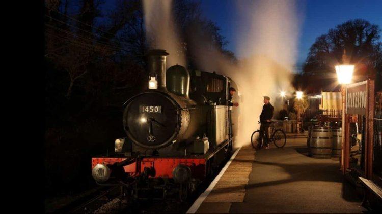 Overnight running at the South Devon Railway