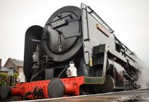 Steam locomotive No.70000 Britannia to haul services at the Severn Valley Railway this weekend