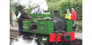 Dougal from the Welshpool and Llanfair Light Railway