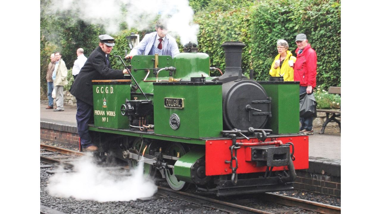 Welsh narrow gauge steam locomotive off to Taiwan