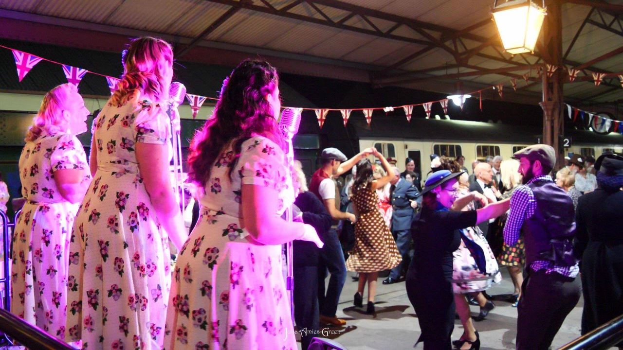 1940s weekend at the West Somerset Railway