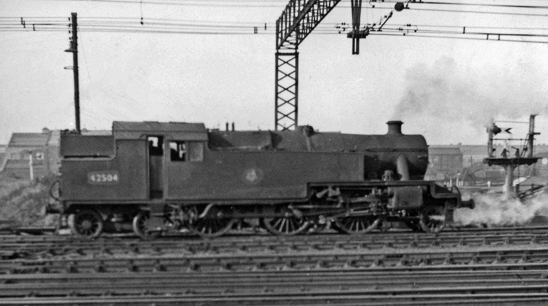 42504 at Stratford in 1961 // Credit Ben Brooksbank