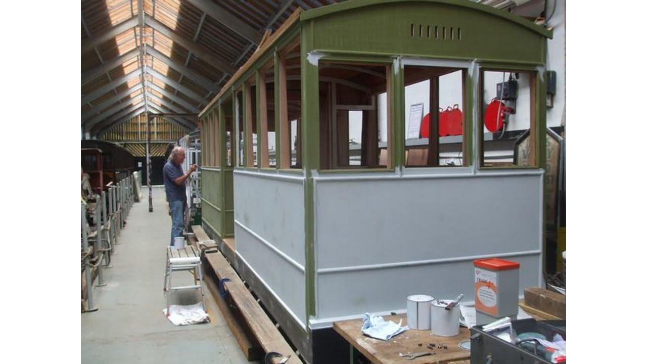 Corris Railway carriage works