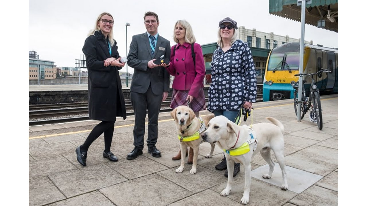 Audio assistance from Arriva Trains Wales