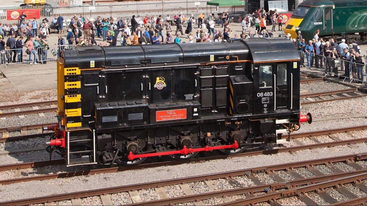 Class 08 locomotive