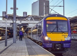 Northern 170 at Leeds