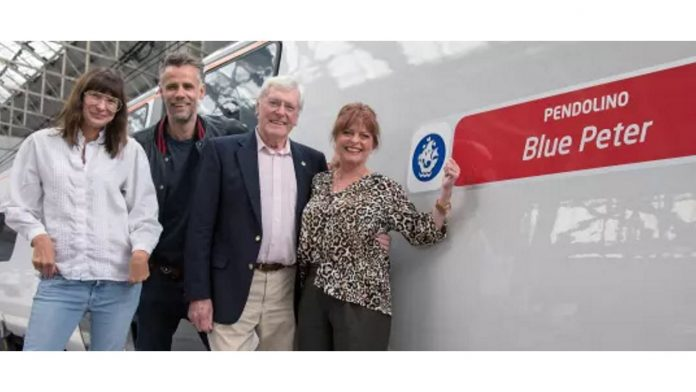 Virgin Trains name train after Blue Peter