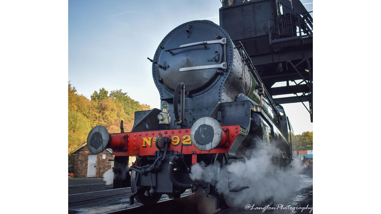 926 Repton at Grosmont MPD