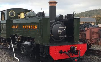 Newly Overhauled No.7 // Credit Locomotive No.7 - Our Past Is Their Future FB Page