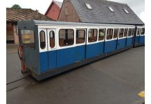 Ravenglass railway carriages