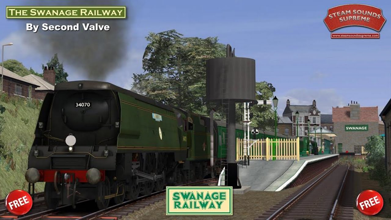Steam Sounds Supreme release Swanage Railway route add on