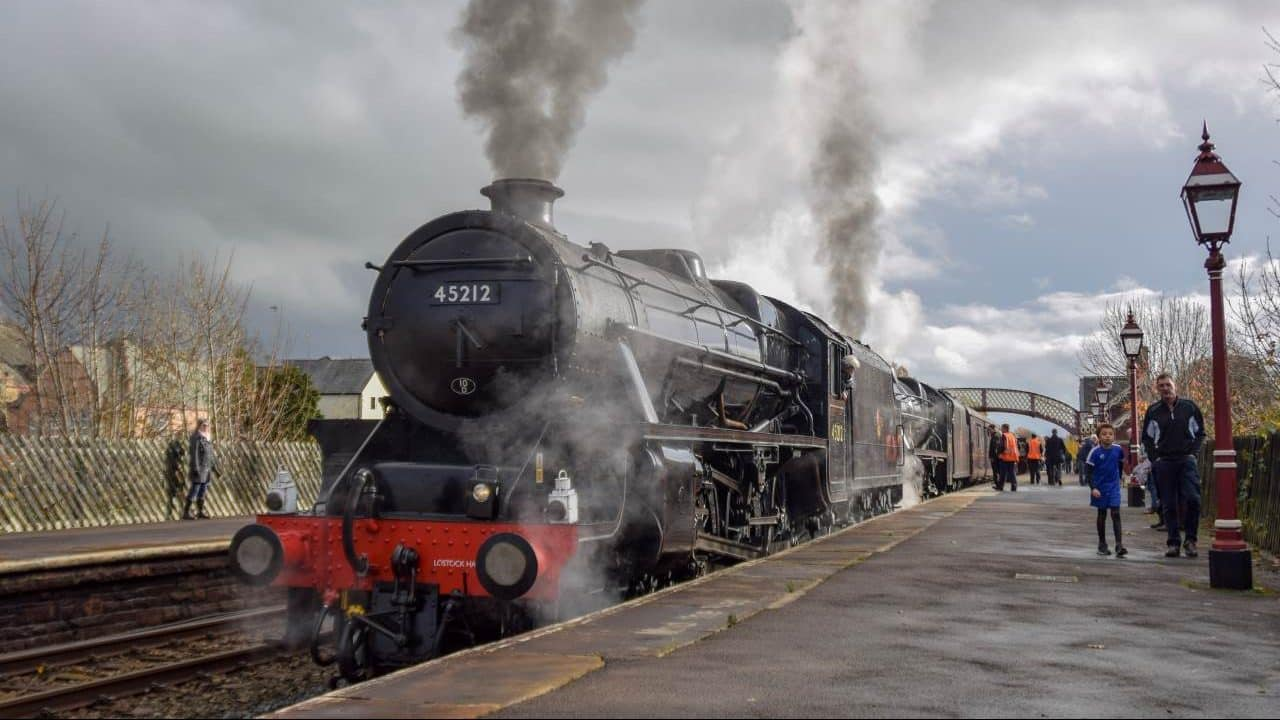 45212 and 45407 at Appleby
