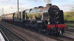 The Welsh Marches Express (Preston - Cardiff) @ Preston Railway Station | England | United Kingdom
