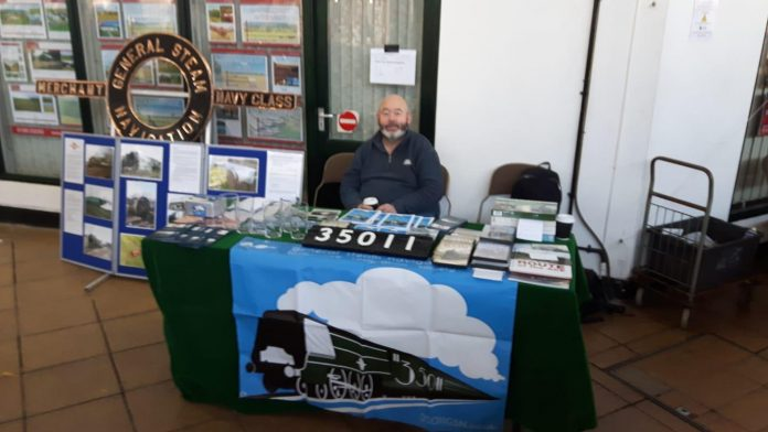 Sale Stand at Exeter Garden Railway Show // Credit GSNLRS