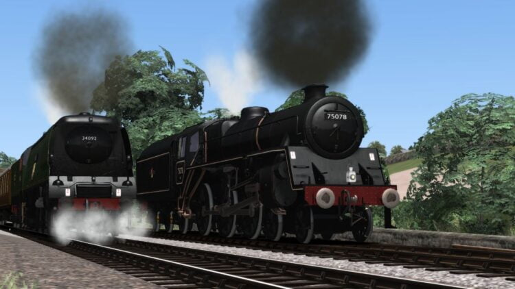 KWVR for Train SImulator