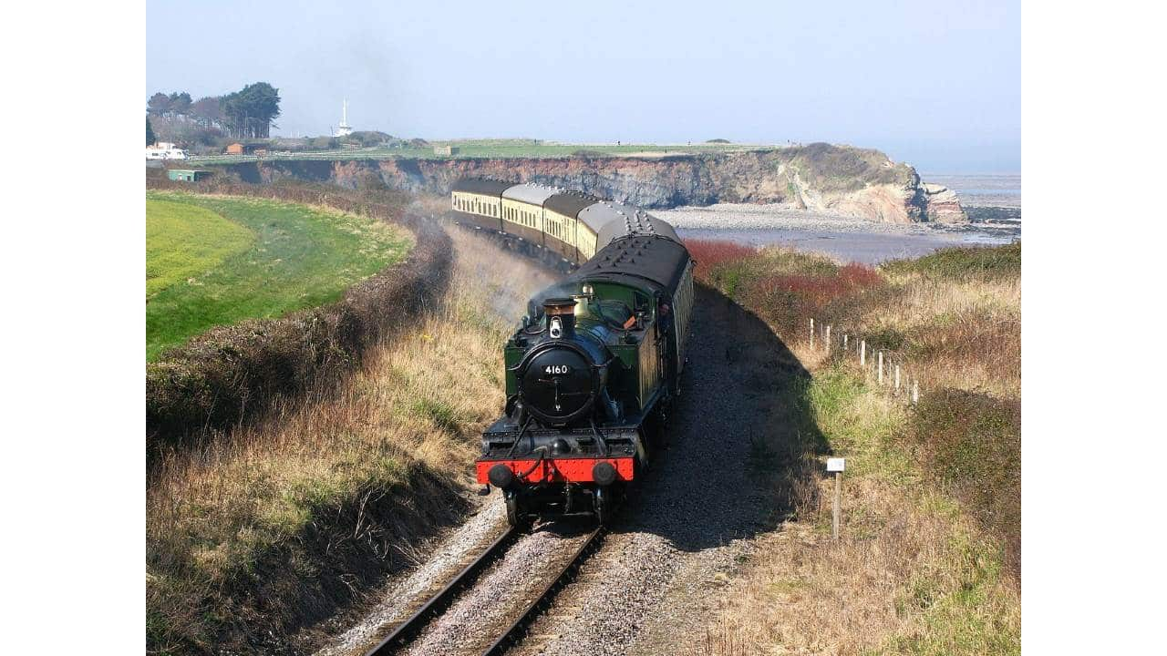 4160 on the West Somerset Railway