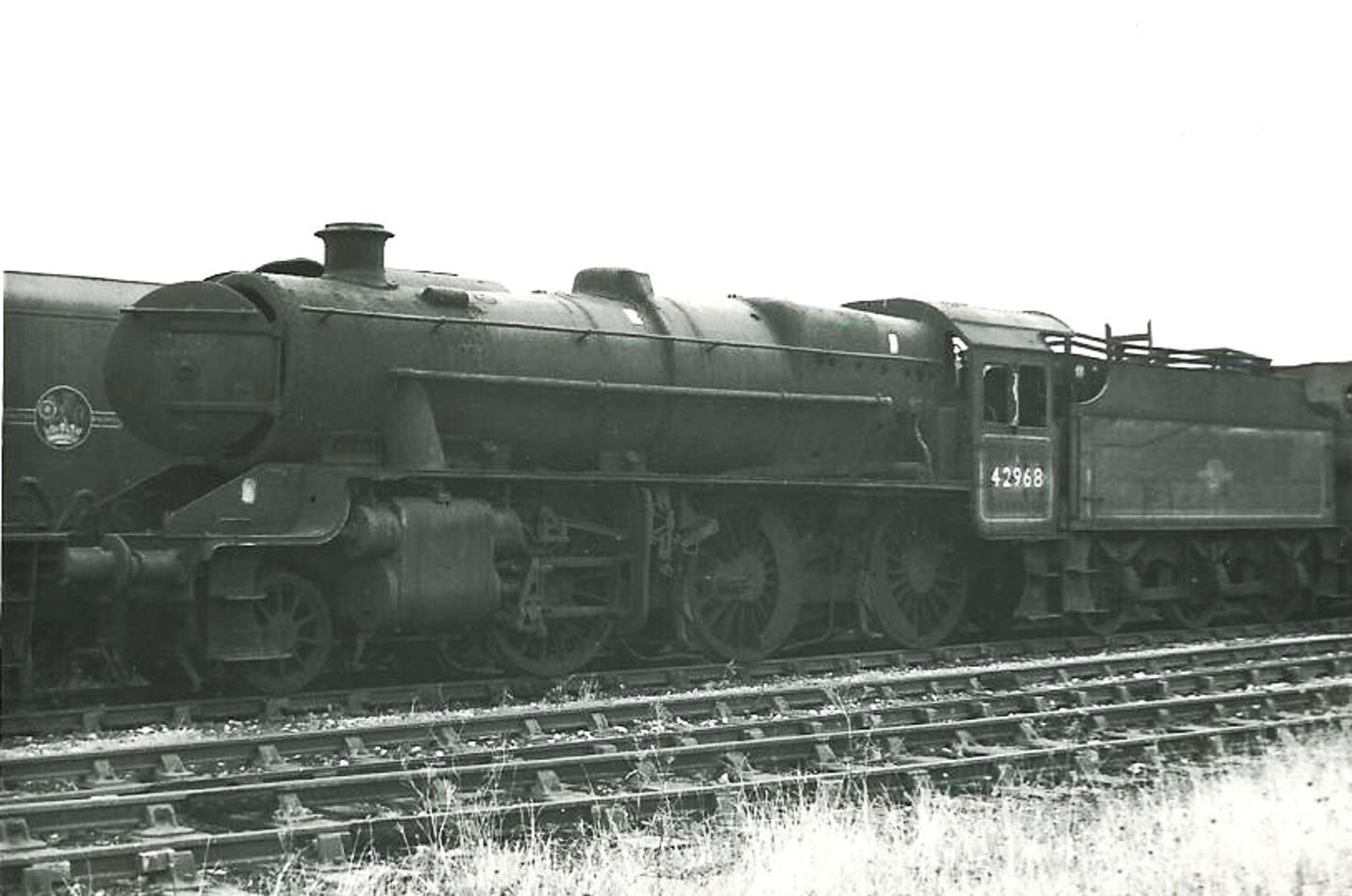 42968 at Barry Scrapyard in July 1968 // Credit Hugh Llewelyn