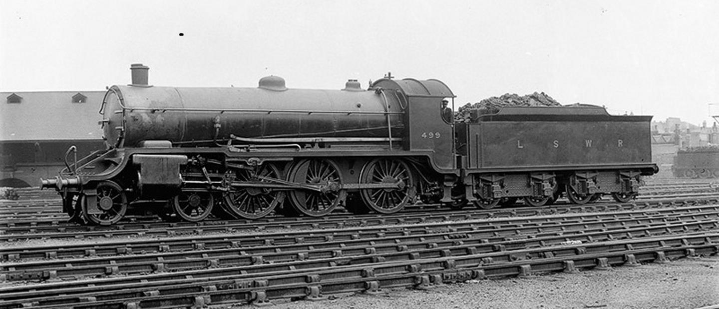499 In Service Under LSWR Ownership // Credit Urie Locomotive Society