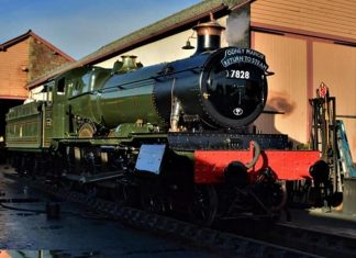 "7828 ""Odney Manor"" Fresh from Overhaul // Credit WSR"