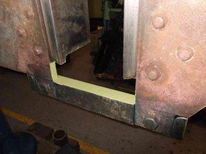 Finished Left-Hand Rear Hornstay // Credit Sir Nigel Gresley Locomotive Trust Ltd