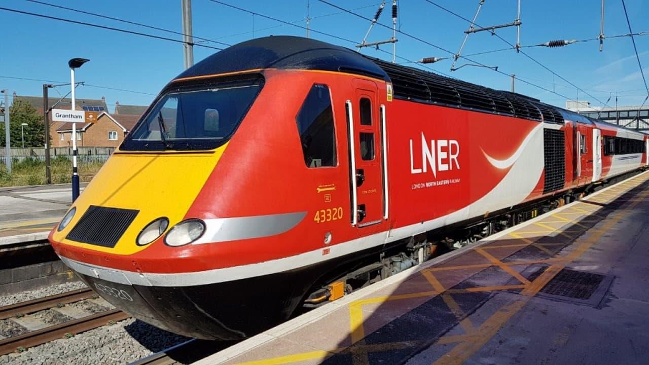 LNER HST at Grantham
