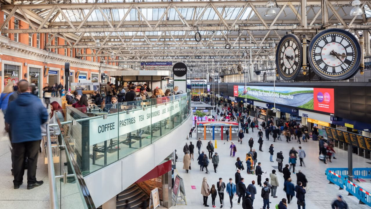 Engineer dies while working on travelator at Waterloo station