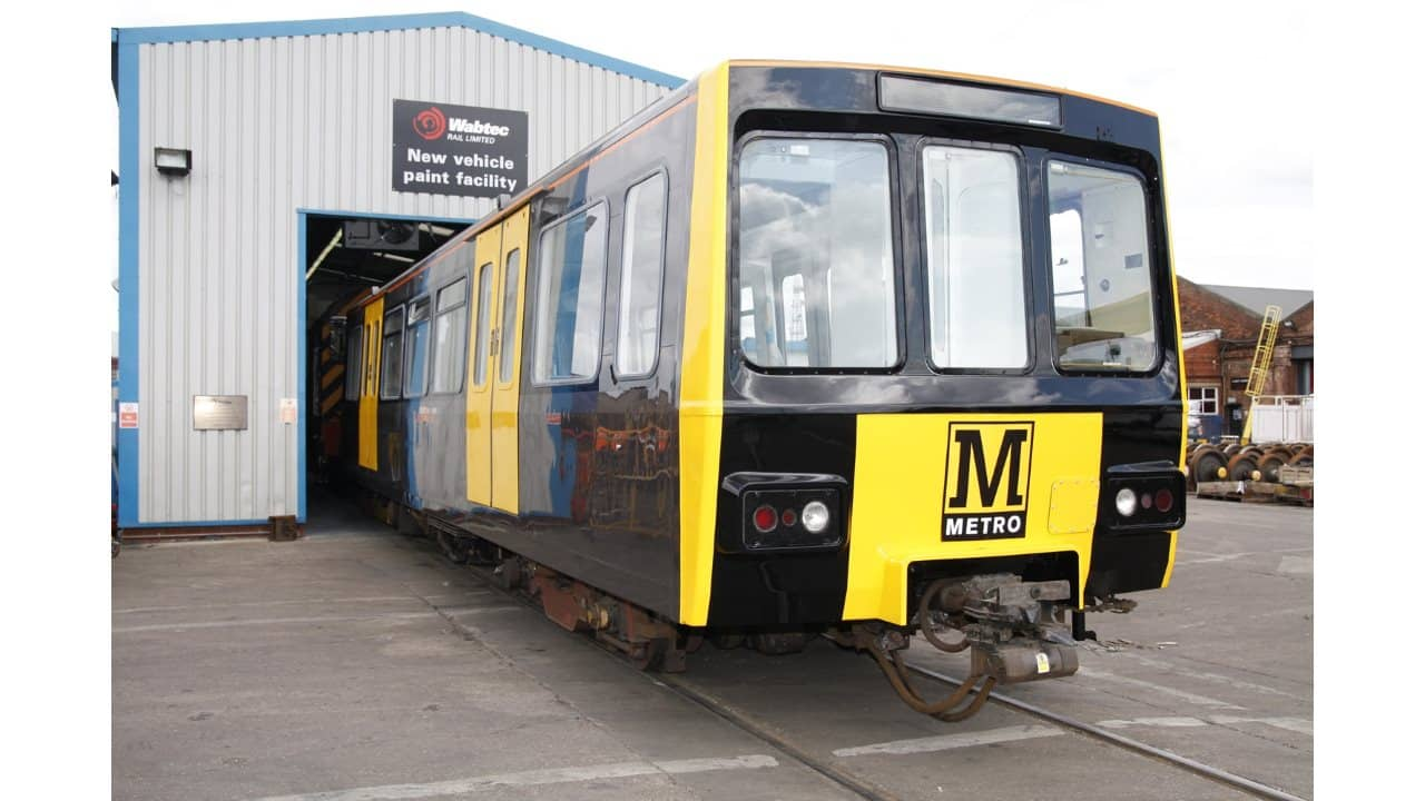 Tyne and Wear metro trains