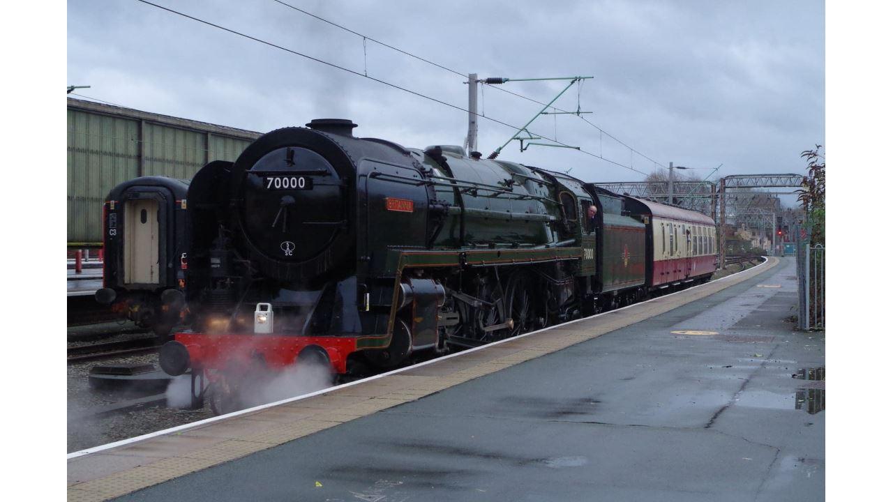 Steam locomotive in Shrewsbury this Sunday - where and when