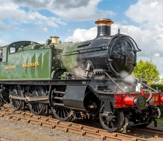 steam locomotive 4144 for Severn Valley Railway
