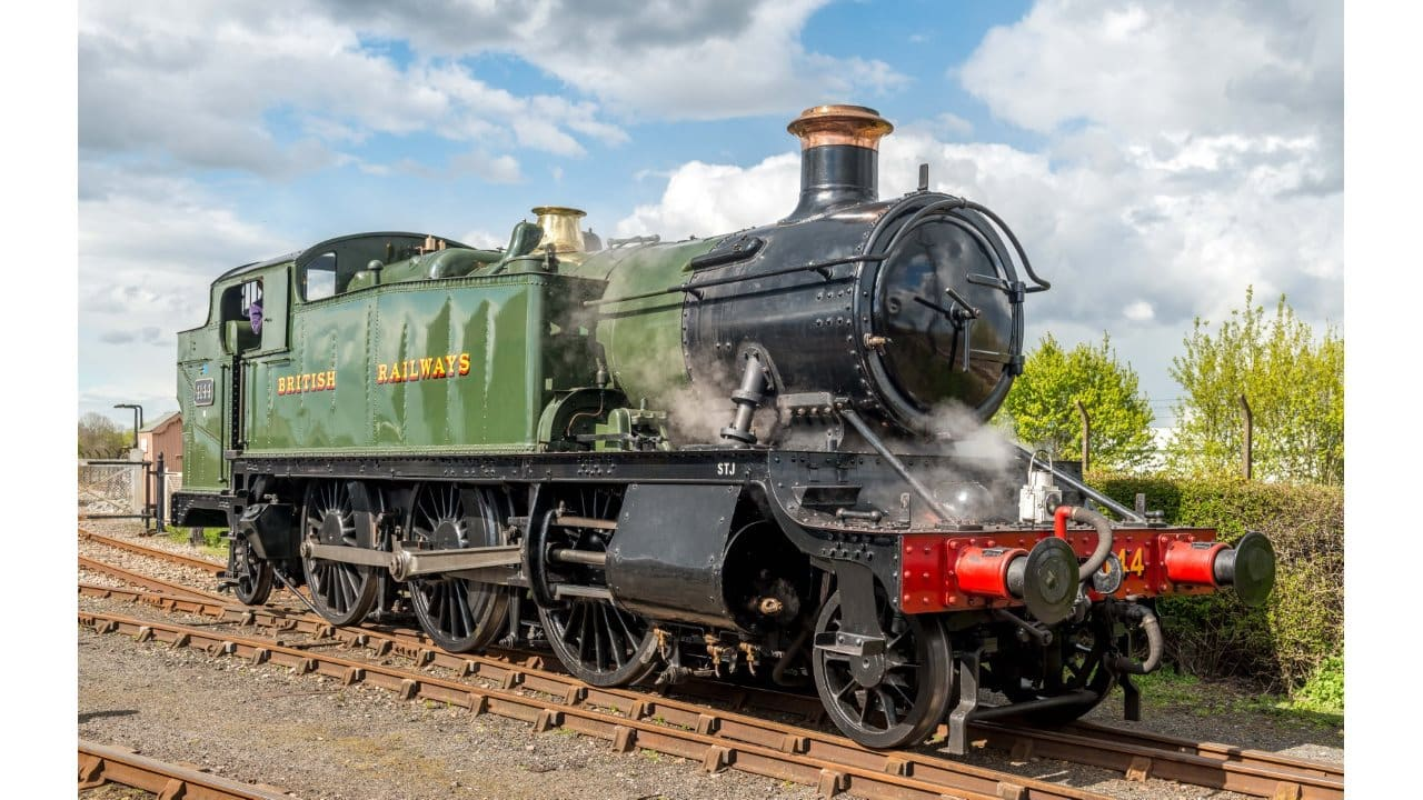 steam locomotive 4144 for Severn Valley Railway