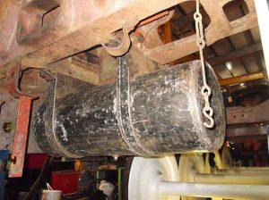 Vacuum Reservoir Tank // Credit The Sir Nigel Gresley Locomotive Trust Ltd