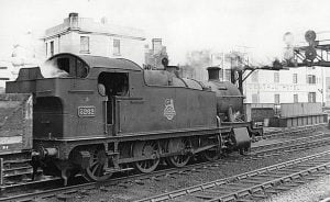 5262 at Cardiff in 1956 // Credit Unknown