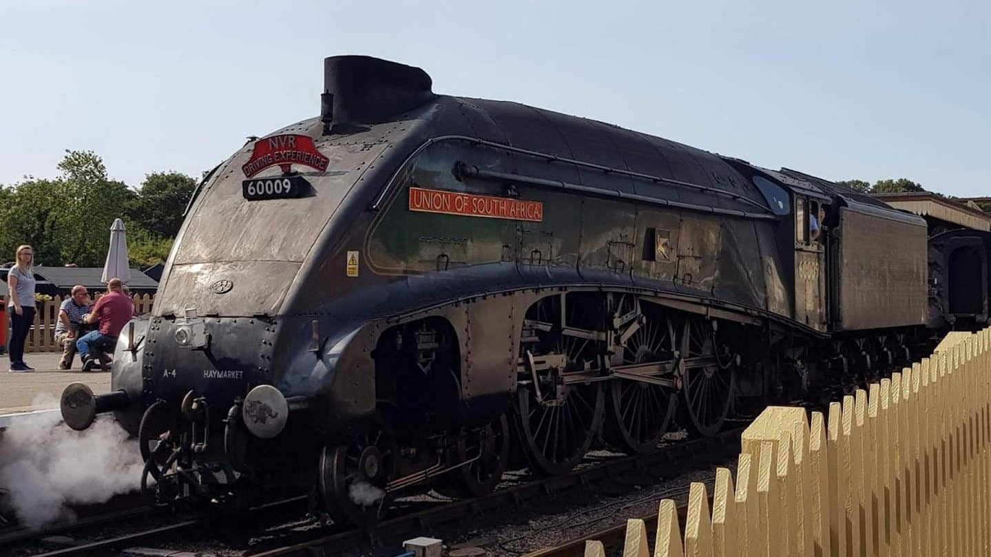 "60009 ""Union of South Africa"" at Nene Valley Railway // Credit Jamie Duggan, RailAdvent"