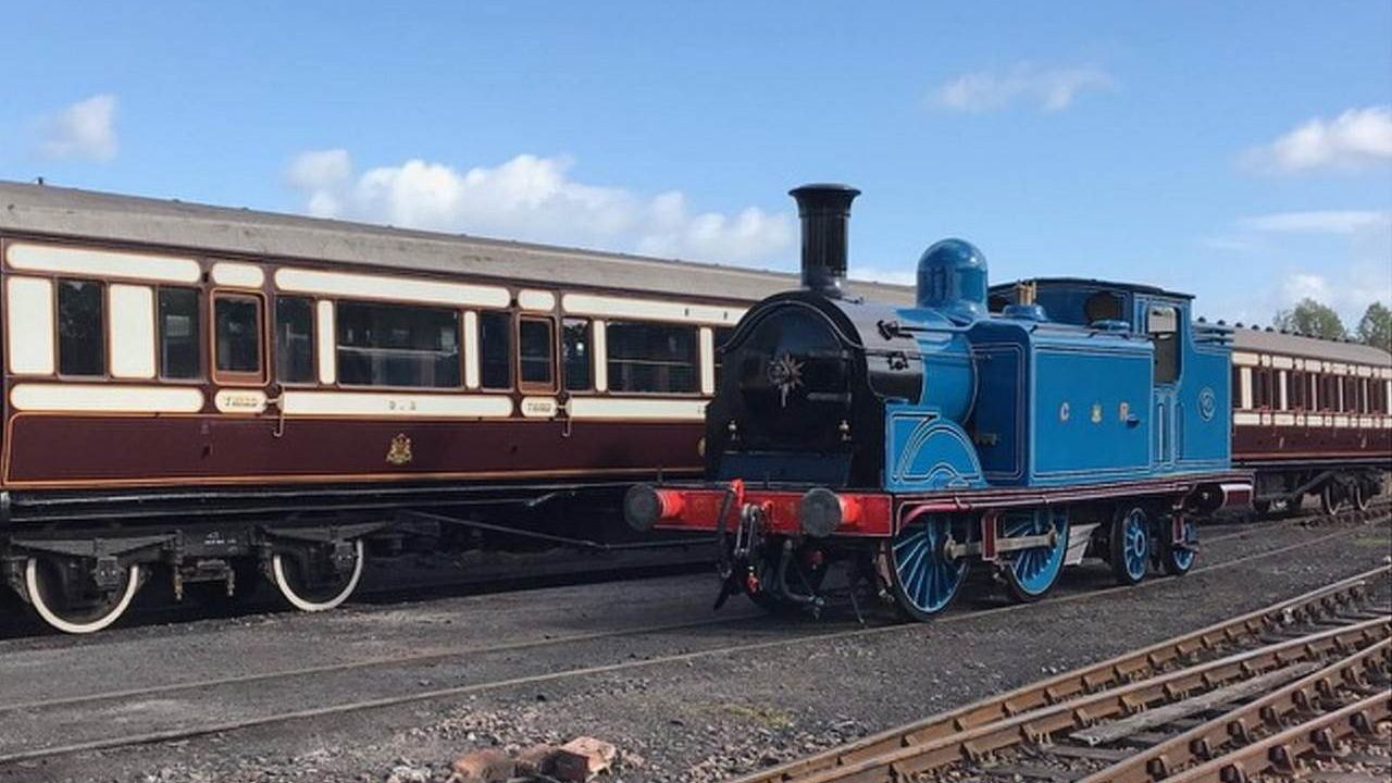 Caledonian Railway No.419